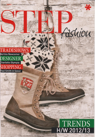 Billi bi STEP fashion Jan2012 Cover